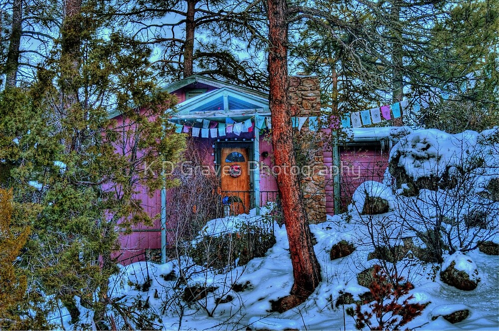 Nestled In The Pines by K D Graves Photography