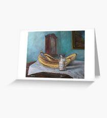 No Salt on My Bananas Please Greeting Card