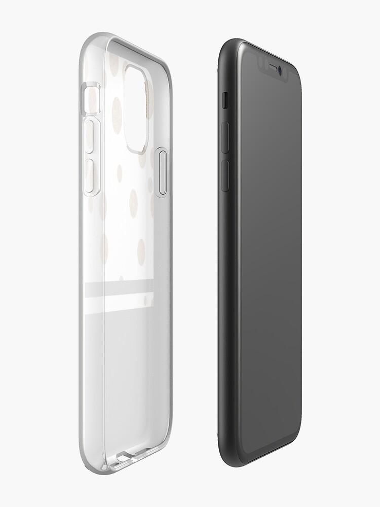 Coque iPhone «Glitz - Noir et blanc», par designcastle