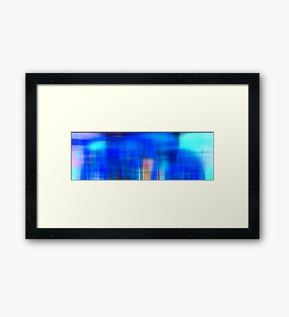 Gradations Framed Print