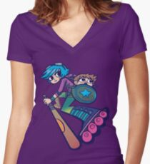 Ramona - Scott Pilgrim Women's Fitted V-Neck T-Shirt