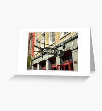 """Gator Gumbo""   Greeting Card"
