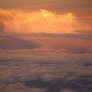 Sunset In The Clouds by Diego Re