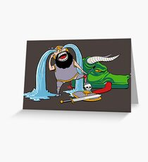 FUS RO ARRGGHHHH Greeting Card