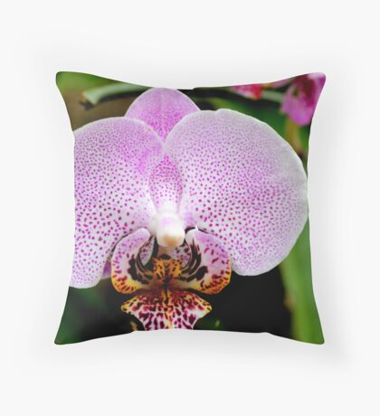 Orchid 45 Throw Pillow