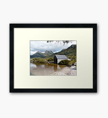 Cradle Mt April 15th Framed Print