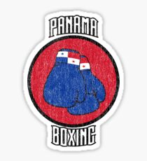 Panama Boxing Sticker