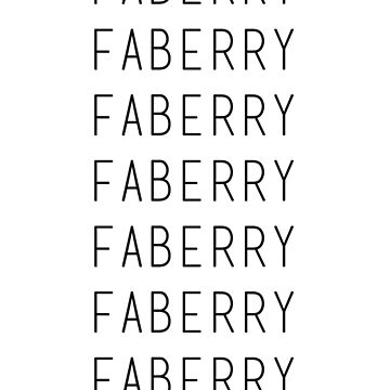 faberry by littlemirmaid