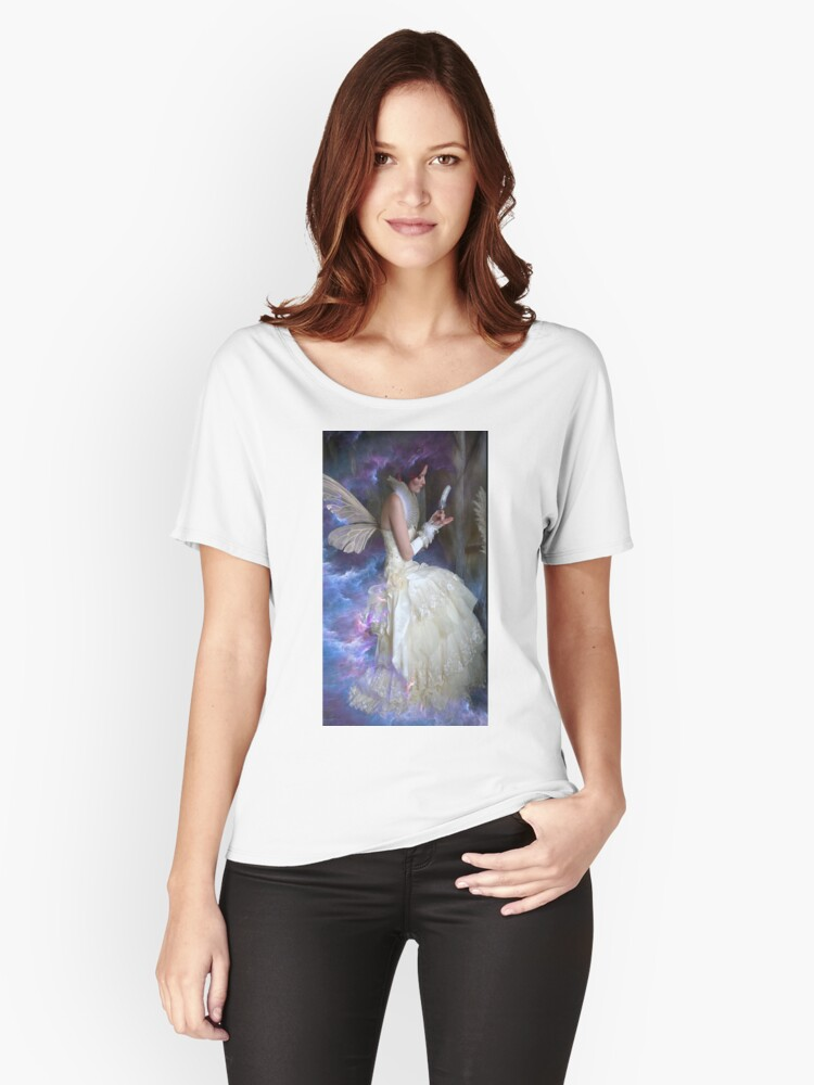 RECORDS KEEPER OF THE FAE Women's Relaxed Fit T-Shirt Front