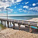 Seaford Pier Victoria, Mornington Peninsula, Australia, Seascape by Ben  Cadwallader
