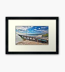 Seaford Pier Victoria, Mornington Peninsula, Australia, Seascape Framed Print