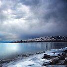 Ice Shards, Frozen Lake by Ryan Houston