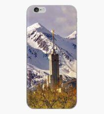 Mount Timpanogos LDS Temple, Spring iPhone Case