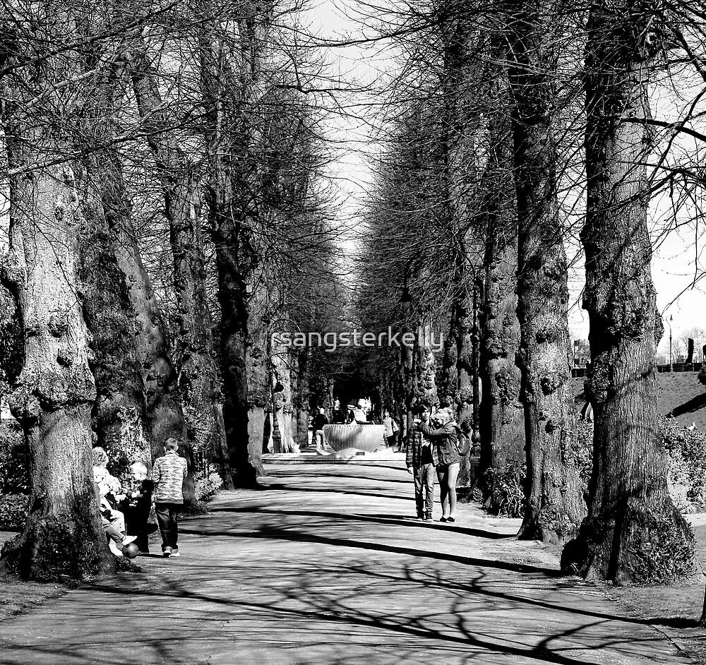Canterbury - Dane John Park by rsangsterkelly