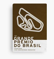 Legendary Races - 1973 Grande Premio do Brasil Canvas Print