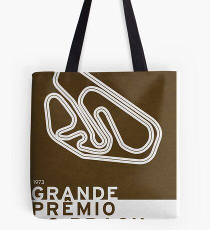 Legendary Races - 1973 Grande Premio do Brasil Tote Bag