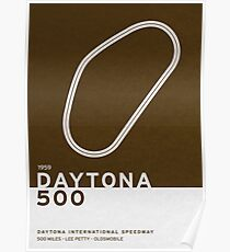 Legendary Races - 1959 Daytona 500 Poster
