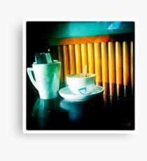 Cambridge Collection: Coffee Break Canvas Print