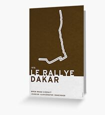 Legendary Races - 1978 Le rallye Dakar Greeting Card