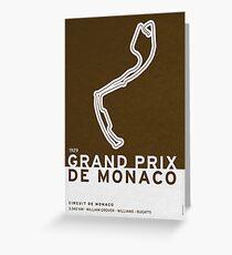 Legendary Races - 1929 Grand Prix de Monaco Greeting Card