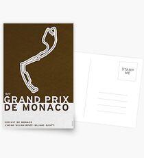 Legendary Races - 1929 Grand Prix de Monaco Postcards
