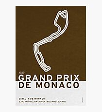 Legendary Races - 1929 Grand Prix de Monaco Photographic Print