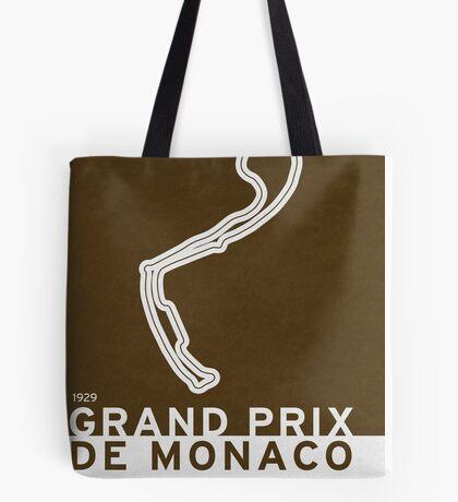 Legendary Races - 1929 Grand Prix de Monaco Tote Bag