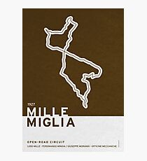 Legendary Races - 1927 Mille Miglia Photographic Print