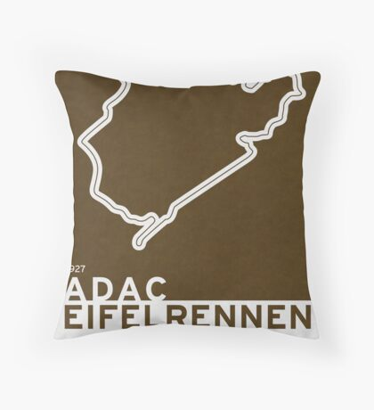 Legendary Races - 1927 Eifelrennen Throw Pillow