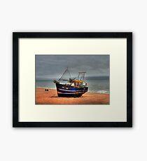 Hastings fishing boat Framed Print