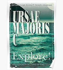 Exoplanet Travel Poster Ursae Majoris Poster