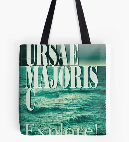 Exoplanet Travel Poster Ursae Majoris Tote Bag