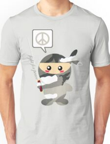 Fight For Peace (snow) Unisex T-Shirt
