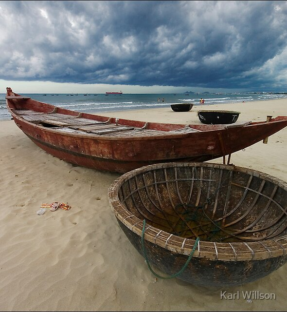 Danang Storm Front by Karl Willson
