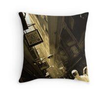 Weave A Maze Through Melbourne Laneways Throw Pillow