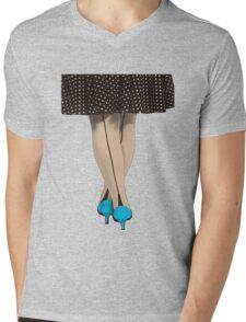 Hot Shoes - Blue! Mens V-Neck T-Shirt
