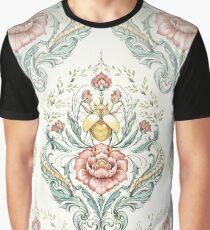 Antikes Muster - Käfer und Hundertfüßer Grafik T-Shirt