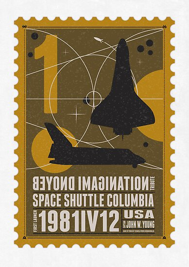 Starship 01 poststamp - Spaceshuttle  by Chungkong