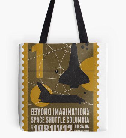Starship 01 poststamp - Spaceshuttle  Tote Bag