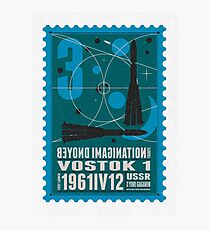 Starship 03 - poststamp - Vostok Photographic Print