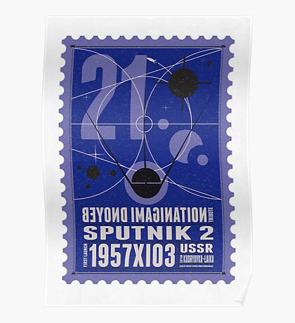 Starship 21 - poststamp - Sputnik2 Poster