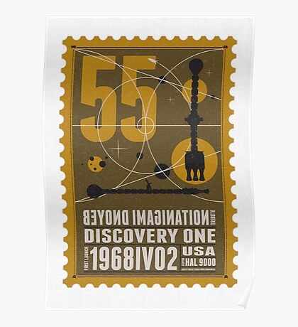 Starship 55 - poststamp - DicoveryOne  Poster