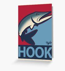Musky Hook Greeting Card