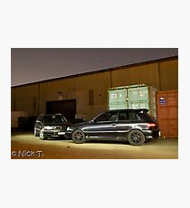 Stagea and Starlet Photographic Print