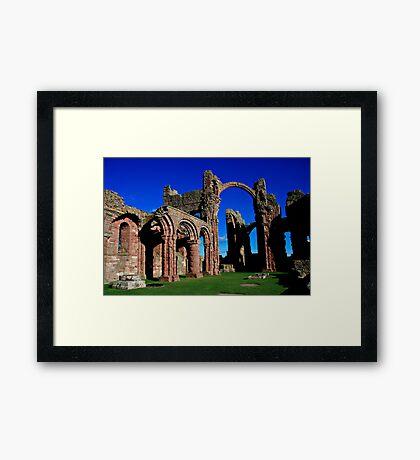 Lindisfarne Priory, Holy Island Framed Print