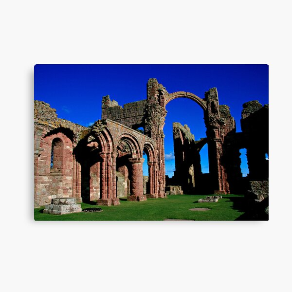 Lindisfarne Priory, Holy Island Canvas Print