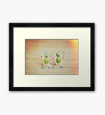 Acorn people Framed Print