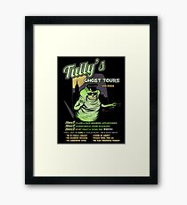 Tully's Ghost Tours Framed Print