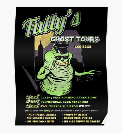 Tully's Ghost Tours Poster
