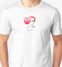 Redheaded illustrator Unisex T-Shirt